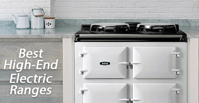 High End Electric Ranges 2016