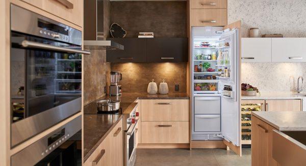 sub zero 24 column refrigerator freezer combo ic-24ci