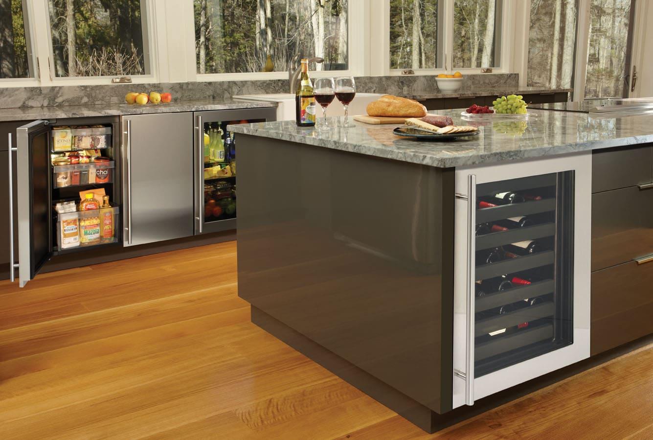 Built In Refrigerator U Line Desertech Appliance Service