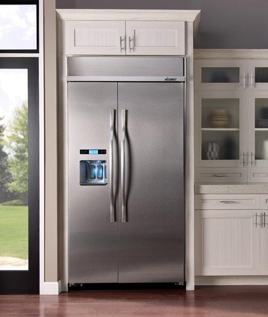 Kitchen Cabinets Refrigerator Surround: How To Clean Refrigerator Coils On Built-In Refrigerator